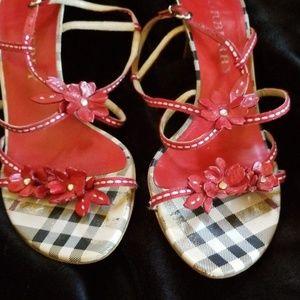 BURBERRY heels sandals